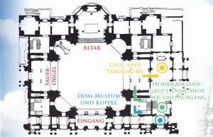 Berlin Katedrali Kroki