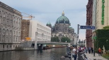 Nikolaiviertel'den Berlin Katedrali