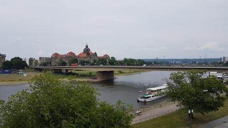 Brühl Terasından Saksonya Devlet Şansölyesi