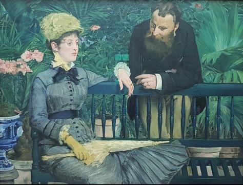 Kış Bahçesi, Edouard Manet